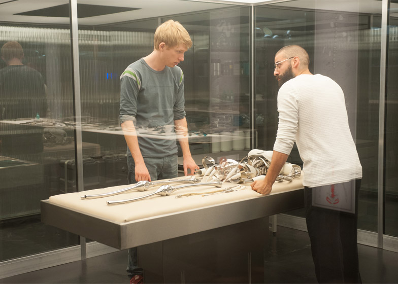Ex Machina film set