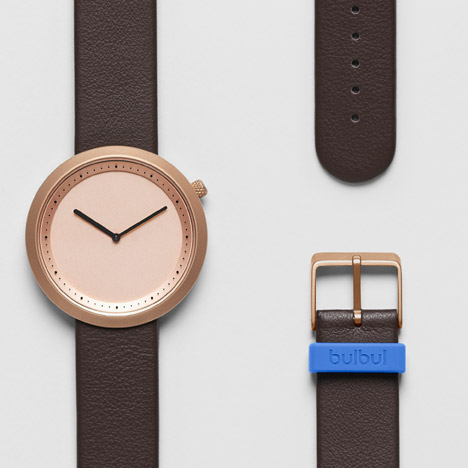Facette watch by KiBiSi for Bulbul arrives at Dezeen Watch Store