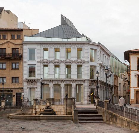 Fine Arts of Asturias by Francisco Mangado