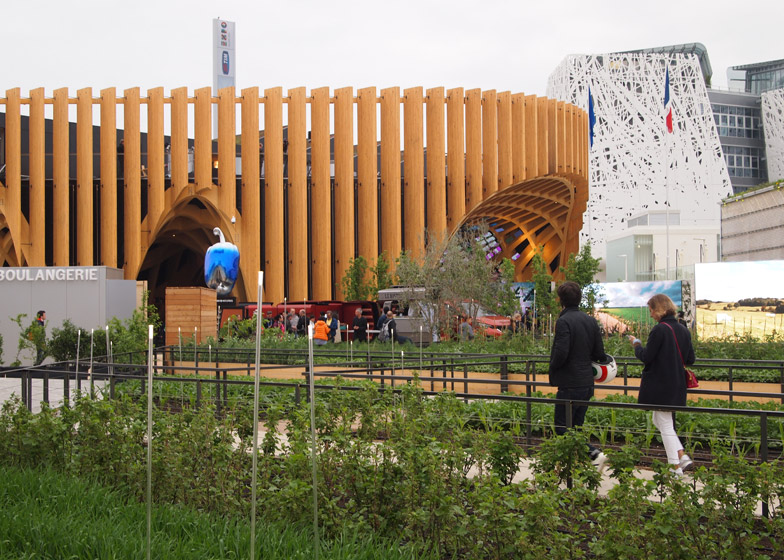 French pavilion at the Milan Expo 2015 by XTU Architects