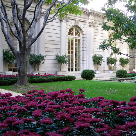 Viewing garden at New York's Frick Collection