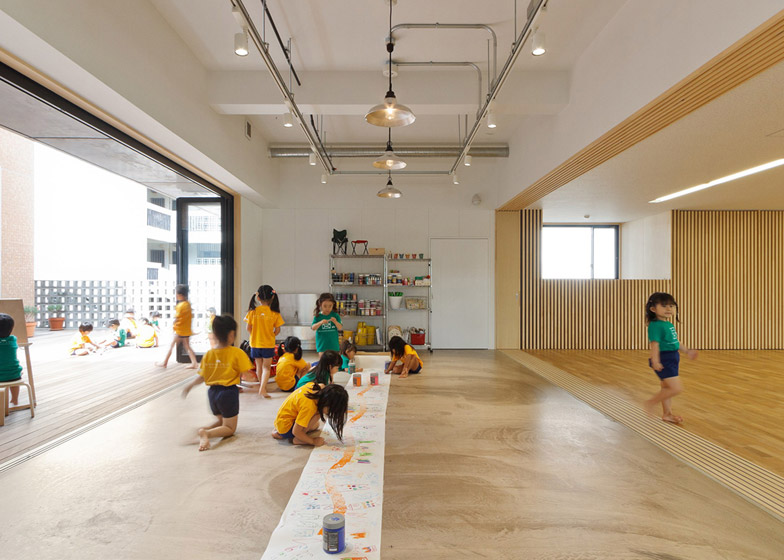 Hanazono Kindergarten and Nursery in Okinawa by Hibino Sekkei and Youji no Shiro