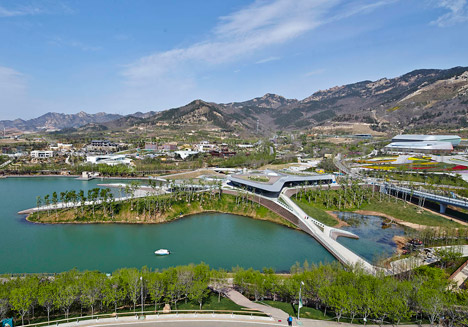 Heavenly Water Service Center of International Horticultural Exposition 2014 by HHD Fun