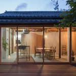 Tato Architects updates a traditional Japanese house with a curved plywood interior