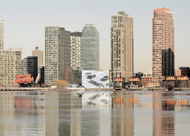 Hunters Point Community Library by Steven Holl