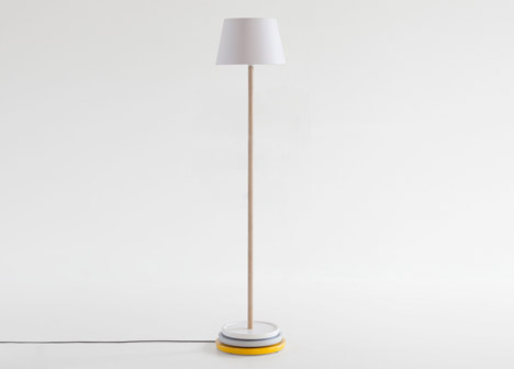 Impila floor lamp by Yu Ito