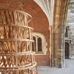 Cox and Bacon build wooden structure with a lower carbon footprint than an iPhone 6