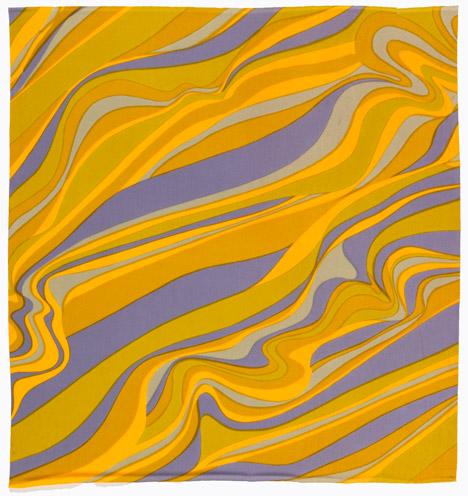 Bojangles by Jack Lenor Larsen, 1967. Photograph by Matt Flynn, courtesy of Cooper Hewitt, Smithsonian Design Museum