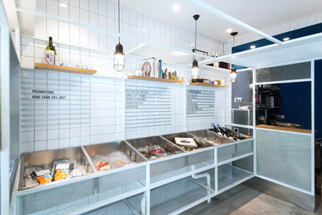 Little Catch Fishmongers by Linehouse Design