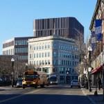 Mecanoo's first US project incorporates historic facades into Boston civic building
