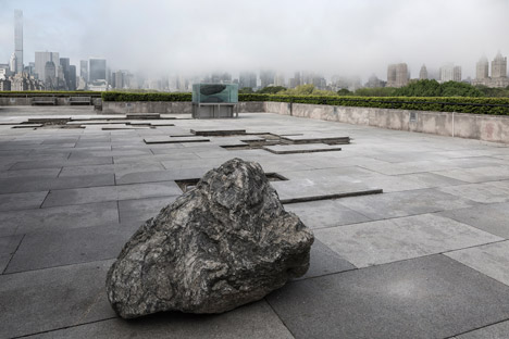 Roof Garden Installation by Pierre Huyghe at the Metropolitan Museum