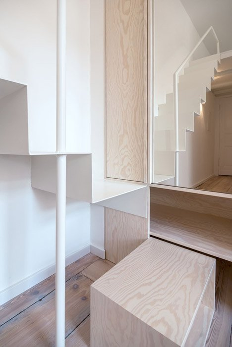 Micro-Apartment in Berlin by spamroom+johnpaulcoss