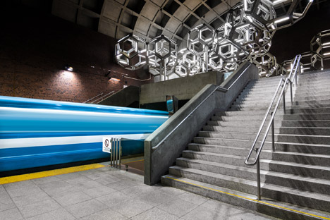 Montreal Metro by Christopher Forsyth