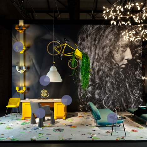Moooi interactive slideshow