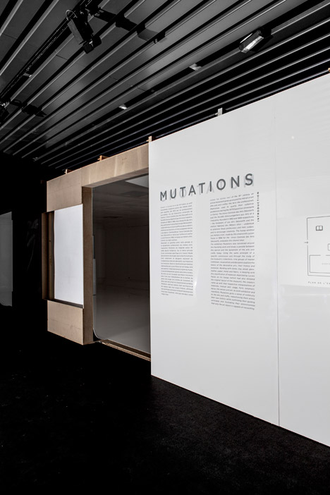 Mutations exhibition design by FREAKS freearchitects