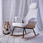 Alegre Design updates traditional breastfeeding chair with contemporary materials and shapes