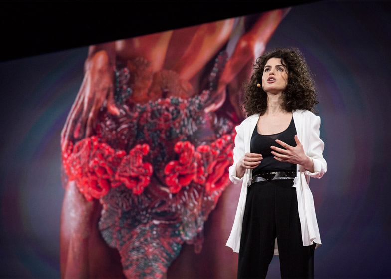 Neri Oxman's photosynthetic wearable