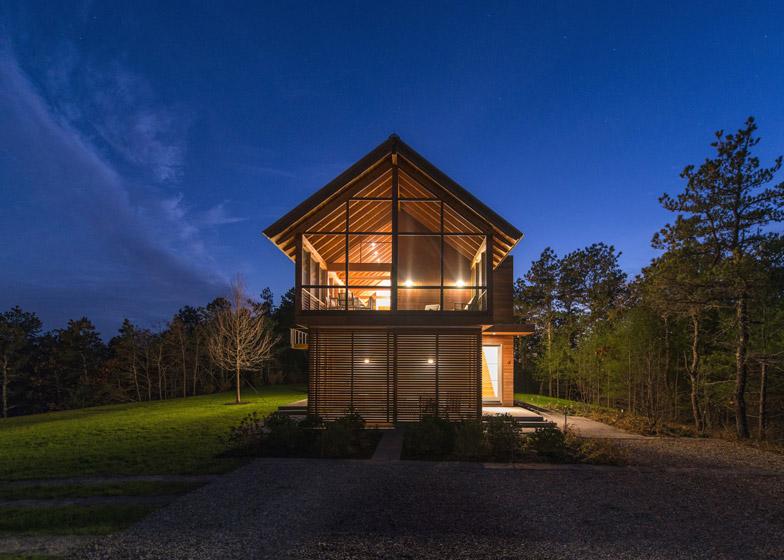 North Pamet Ridge House by Hammer Architects