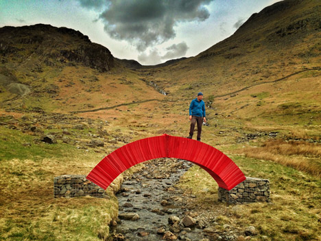 Paperbridge by Steve Messam