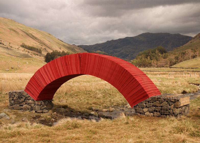 Paperbridge by Steve Messam