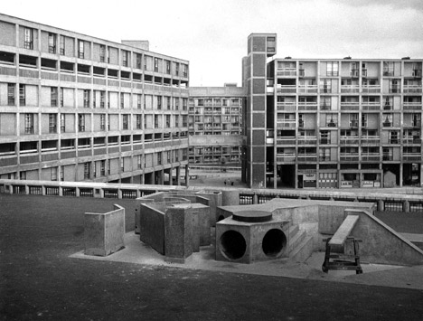 Park Hill Estate, Sheffield, 1962. Image courtesy of RIBA Library Photographs Collection
