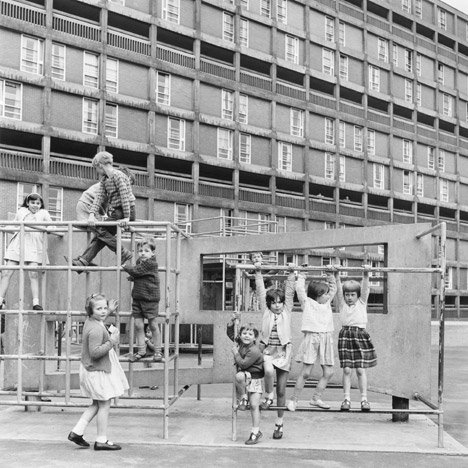 Park Hill Estate, Sheffield, 1963. Image courtesy of RIBA Library Photographs Collection
