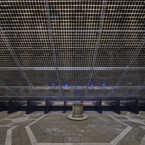 Pavilion of Light and Sound by Shigeru Ban at Venice 2015