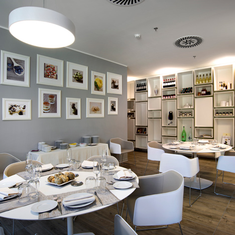 Pedrali furnishes restaurant at Milan Nestlé headquarters