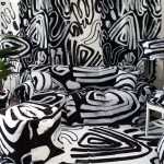 Print All Over Me debuts homeware line with patterned installation