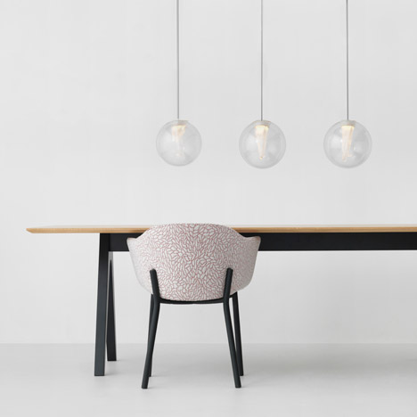 Resident adds spherical and perforated pendants to its lighting range