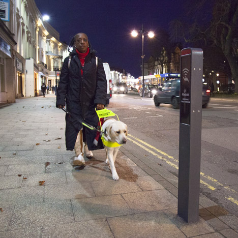 Responsive Street Furniture adapts public spaces to suit pedestrians' needs
