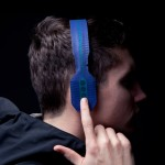Maxime Loiseau's streamlined headphones feature printed electronics