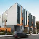 Roxbury E+ townhouses in Boston designed to produce more energy than they use