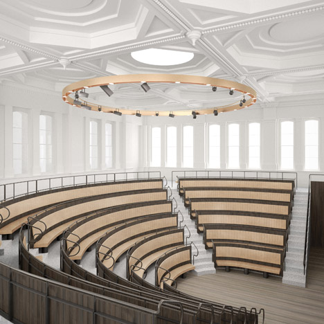 Royal Academy of Arts renovation by David Chipperfield