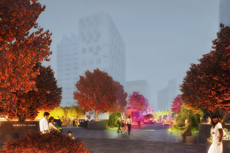 MVRDV and Studio Makkink & Bey to transform Seoul overpass into High Line-inspired park called Seoul Skygarden