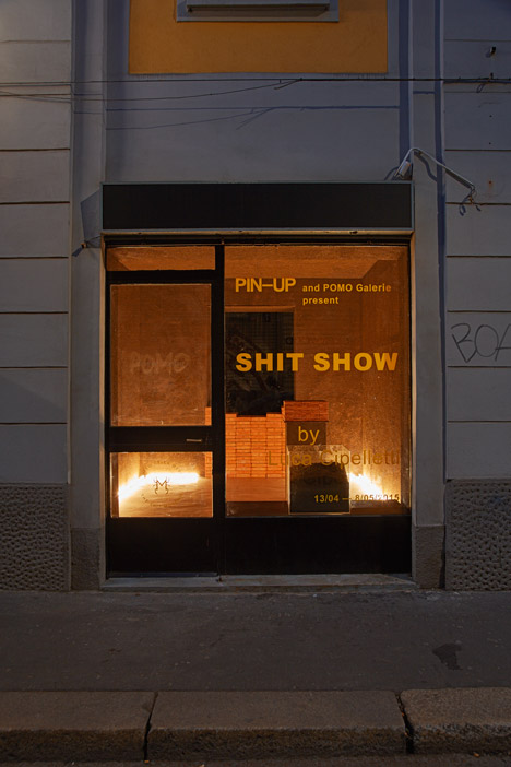 Shit Show at Pomo Galerie for Milan 2015