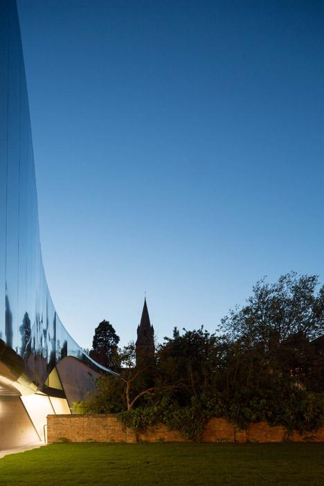 St Antony's College by Zaha Hadid
