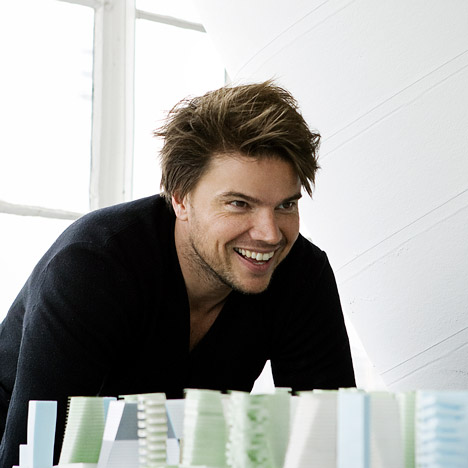 Bjarke Ingels. Photograph by Steve Benisty
