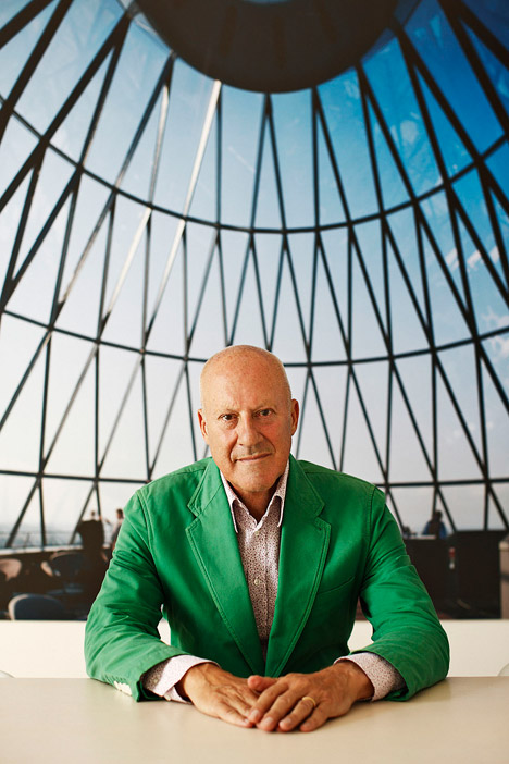 Norman Foster. Photograph by Manolo Yllera
