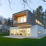 Christian von Düring completes a house designed to function like a bridge