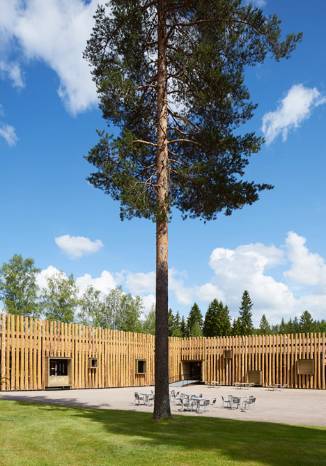 Torsby Finnskog Center by Bornstein Lyckefors architects
