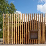 Log-clad museum by Bornstein Lyckefors honours the legacy of Finnish slash-and-burn farmers