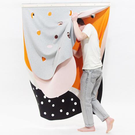 Martyna Barbara Golik translates<br /> tastes into textiles
