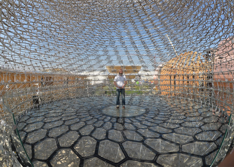 UK pavilion for the Milan Expo 2015 by Wolfgang Buttress and BDP