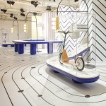 "Jaime Hayón uses marble and ceramics to create ""fantastical urban landscape"" for MINI"