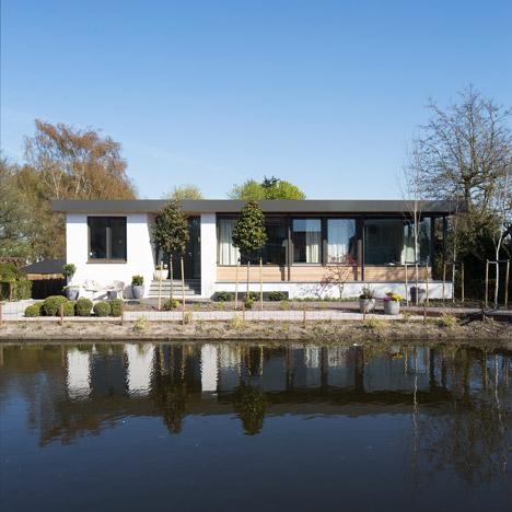 Villa near Rotterdam by Antonia Reif