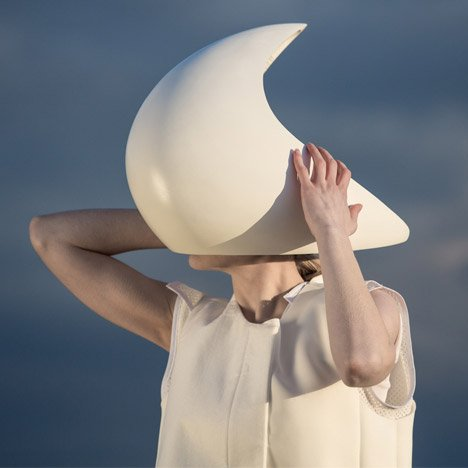 FIELD creates sculptural virtual reality helmets for Violescence exhibition