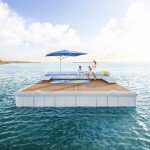 Waterscape by Alexander Lotersztain is a modular platform for living on water