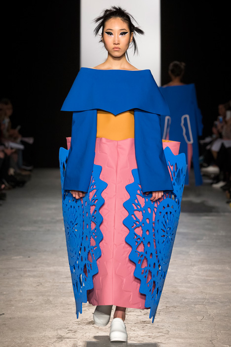 Dezeen S Picks Of Westminster Fashion Design Graduates 2015