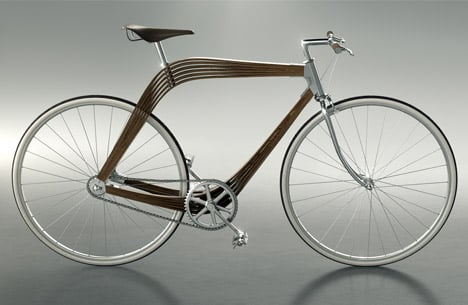 Wooden composite bike by AERO